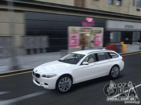 BMW M5 F11 Touring V.2.0 para GTA 4 vista interior