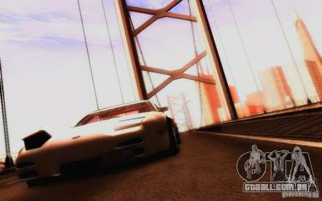 Nissan 150SX Drift para vista lateral GTA San Andreas