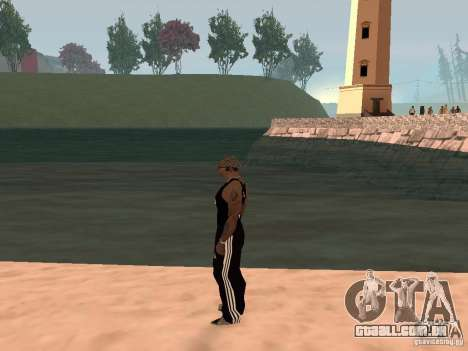 Escolher qualquer clima para GTA San Andreas terceira tela