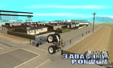 QUAD BIKE Custom Version 1 para GTA San Andreas vista direita