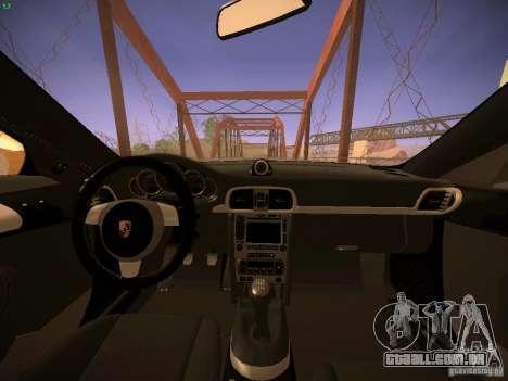 Porsche 911 para GTA San Andreas vista superior