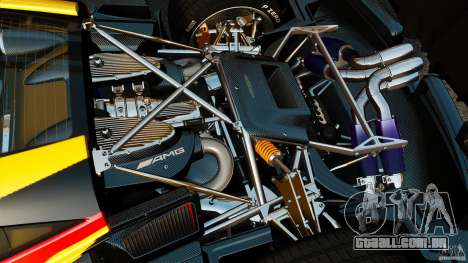Pagani Huayra 2011 [EPM] para GTA 4 vista interior