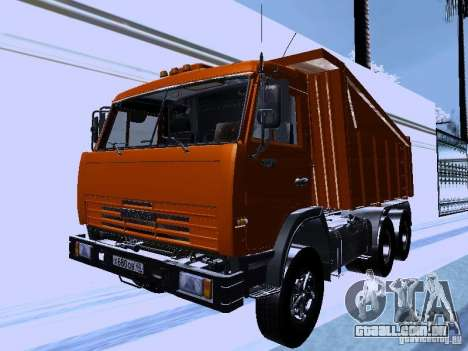 KAMAZ 54115 caminhão para GTA San Andreas