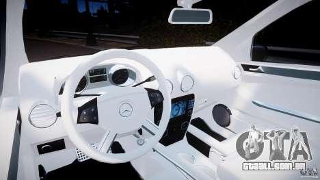 Mercedes-Benz ML63 AMG v2.0 para GTA 4 vista de volta