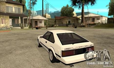 Toyota Celica Supra 1984 para GTA San Andreas traseira esquerda vista