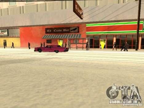 Aumentar o tráfego para GTA San Andreas por diante tela