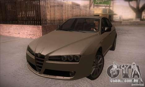 Alfa Romeo 159 para GTA San Andreas vista interior