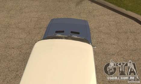 2106 VAZ velho v 2.0 para o motor de GTA San Andreas