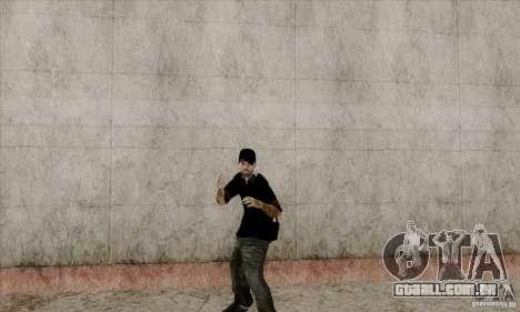Pele na Bmydrug para GTA San Andreas quinto tela