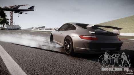 Porsche GT3 997 para GTA 4 vista de volta
