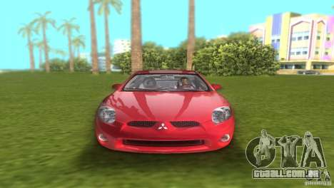 Mitsubishi Eclipse GT 2007 para GTA Vice City vista direita