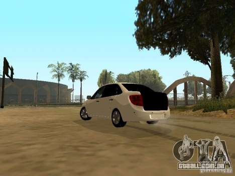 Lada Grant para GTA San Andreas esquerda vista