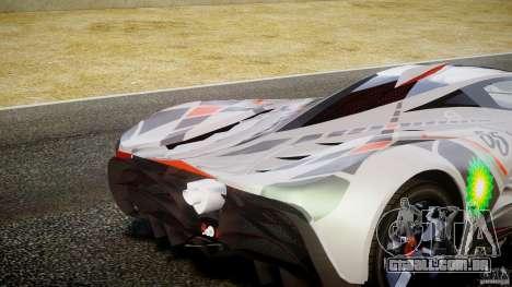 Mazda Furai Concept 2008 para GTA 4 interior