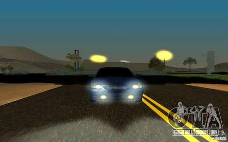LADA PRIORA carro tuning para GTA San Andreas esquerda vista