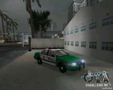 Ford Crown Victoria 2003 Police para GTA Vice City vista traseira