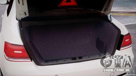 BMW M3 Hamann E92 para GTA 4 vista superior