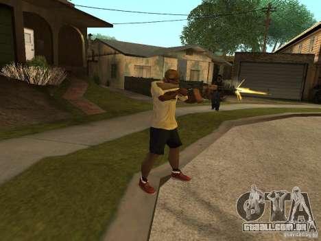 AK-74 de Arma II para GTA San Andreas terceira tela