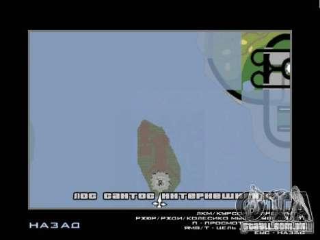 A estátua da liberdade para GTA San Andreas por diante tela