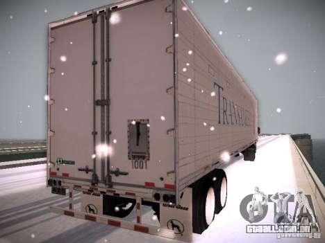 Trailer Artict1 para GTA San Andreas traseira esquerda vista