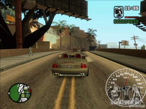 Spyder Cambriocorsa para GTA San Andreas vista direita