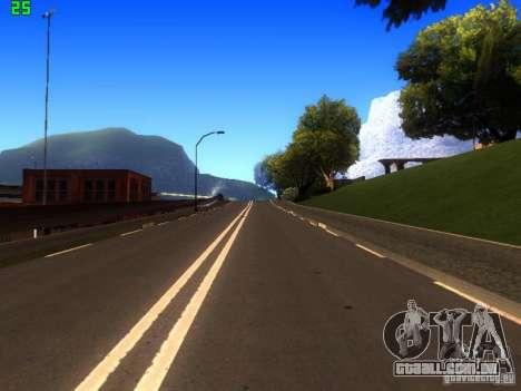 Roads Moscow para GTA San Andreas sexta tela