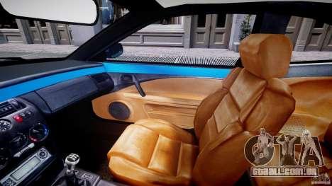 Fiat Coupe 2000 para GTA 4 vista interior