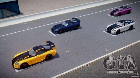 Dodge Viper SRT-10 ACR 2009 v2.0 [EPM] para GTA 4 motor