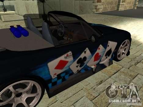 Mazda MX5 Miata para GTA San Andreas vista direita