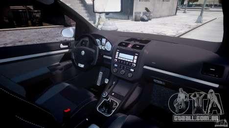 Volkswagen Golf GTI 2006 v1.0 para GTA 4 vista inferior