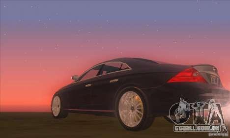 Mercedes-Benz CLS AMG para GTA San Andreas vista direita