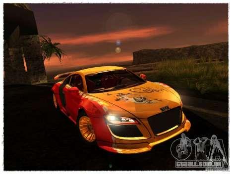 Audi R8 Calibri-Ace para GTA San Andreas