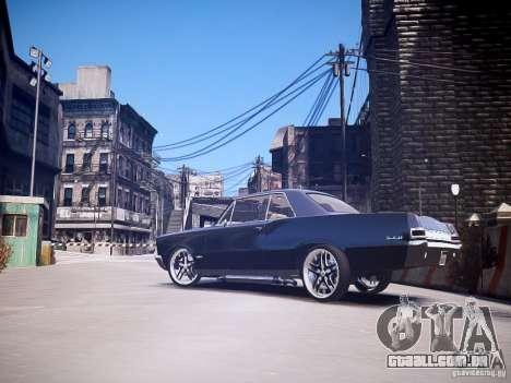 Pontiac GTO 1965 Custom discks pack 3 para GTA 4 esquerda vista