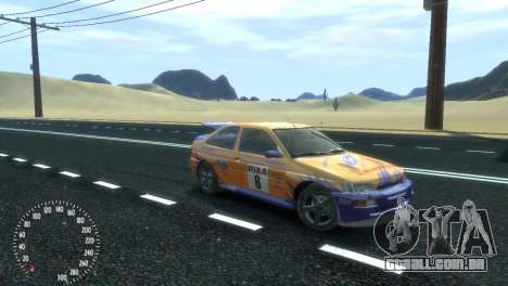Ford Escort RS Cosworth para GTA 4