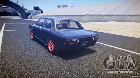 Datsun Bluebird 510 Tuned 1970 [EPM] para GTA 4 traseira esquerda vista