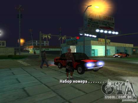 Killer Mod para GTA San Andreas quinto tela