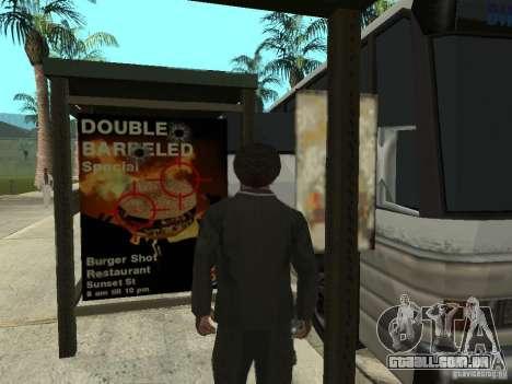 Linha de ônibus em Las Venturas para GTA San Andreas quinto tela