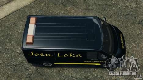 Ford Transit Joen Loka [ELS] para GTA 4 vista direita