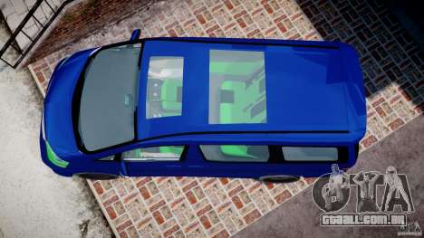 Toyota Alphard 2007 para GTA 4 vista direita