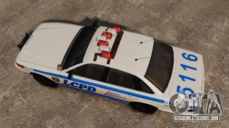 Uma nova viatura policial para GTA 4 vista direita