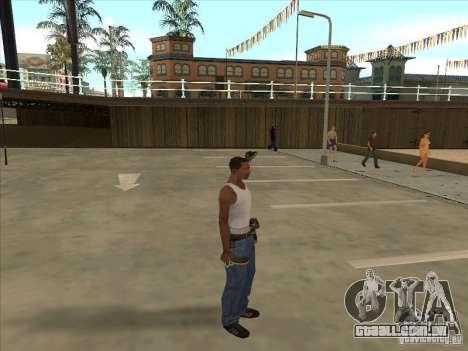 Raquete de tênis para GTA San Andreas segunda tela
