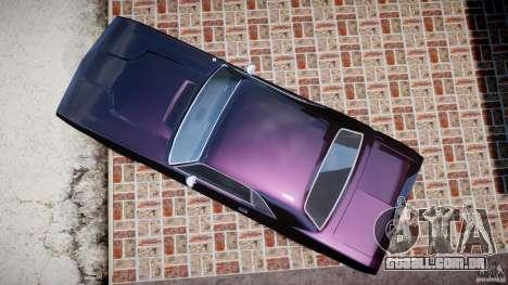 Dodge Challenger 1971 RT para GTA 4 vista direita