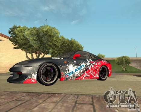 Toyota Supra by Cyborg ProductionS para GTA San Andreas vista interior