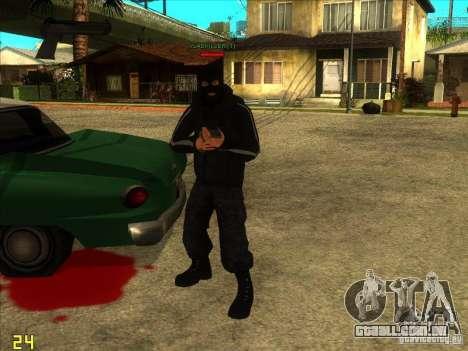 SkinHead (Football fan) para GTA San Andreas