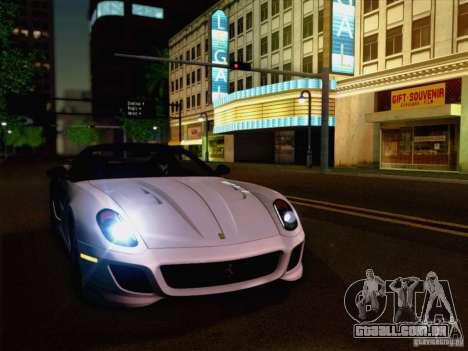 New Car Lights Effect para GTA San Andreas segunda tela