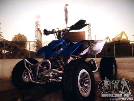 Bike Pure para GTA San Andreas vista interior