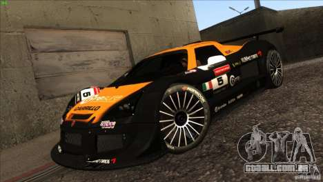 Gumpert Apollo para GTA San Andreas vista superior
