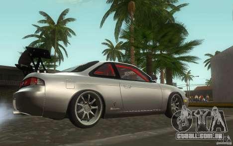 Nissan Silvia S14 Zenkitron para GTA San Andreas vista traseira