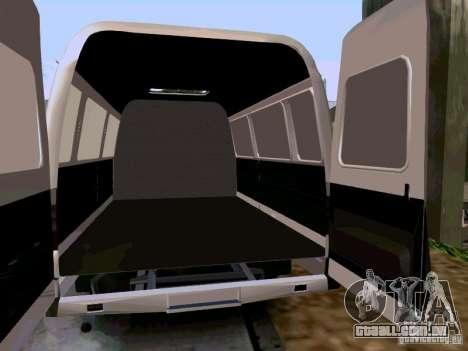 Gazela 2705 1994 para GTA San Andreas vista direita