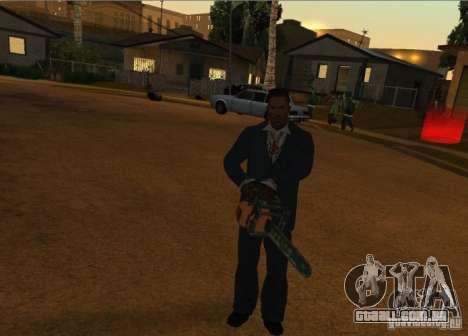Pak domésticos armas versão 6 para GTA San Andreas quinto tela