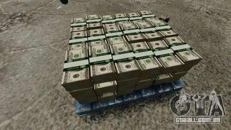 de 100 contas de Reserva Federal dos Estados Uni para GTA 4